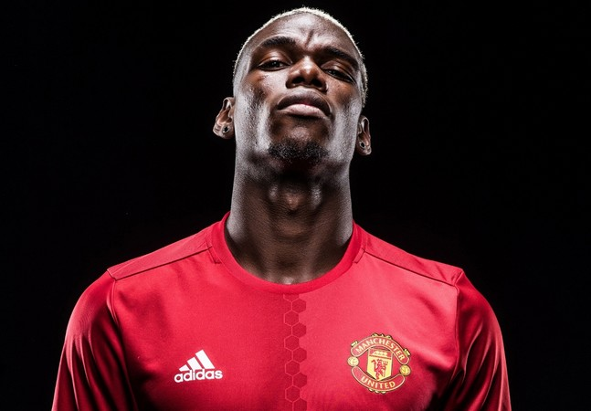 Pogba interdit de basket — Man Utd