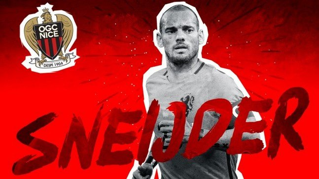 Sneijder retrouve le groupe — Nice