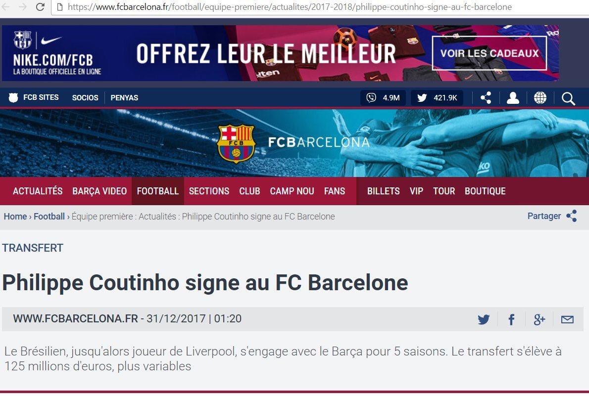 Le conseil de Paulinho à Coutinho — Barça