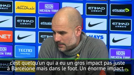 Guardiola rend hommage à Ronaldinho — Man City