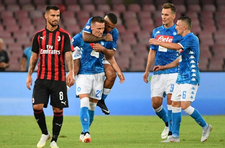 Direct video milan ac naples 1 4 de finale de coupe d 39 italie suivre en live - Coupe d italie en direct ...
