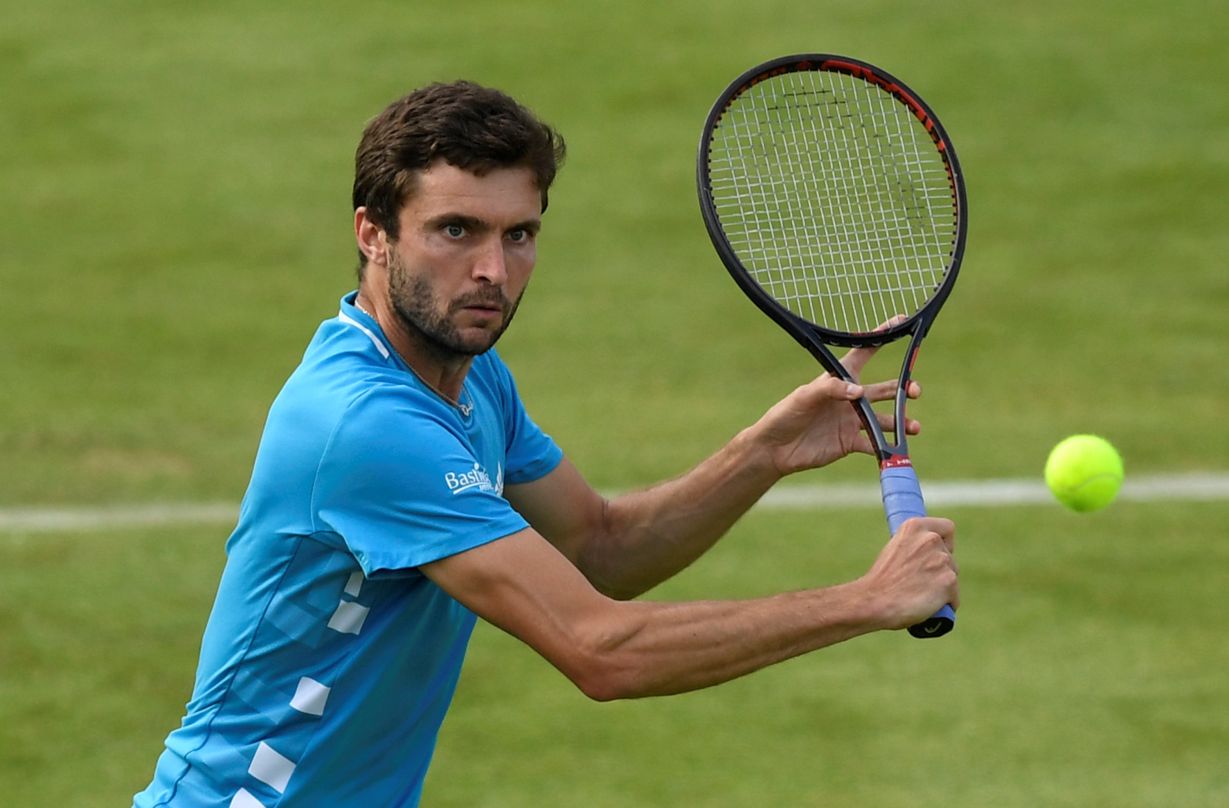 Wimbledon H : Simon prend sa revanche sur Caruso et file au deuxième tour - Sport.fr
