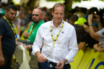 Christian Prudhomme sur le Tour de France