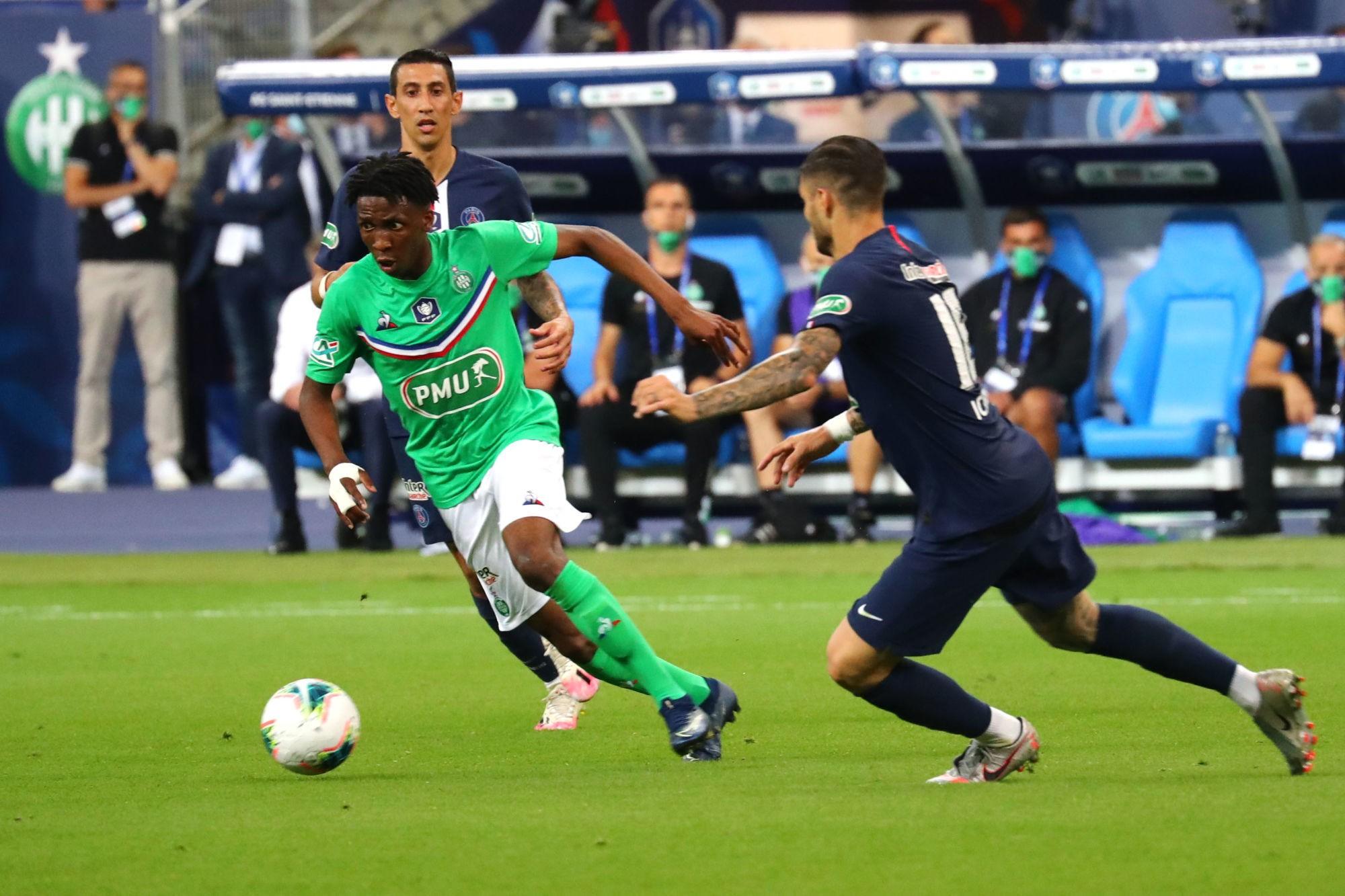 ASSE / PSG - Yvan Neyou ne souhaite surtout pas être comparé à Neymar... - Sport.fr