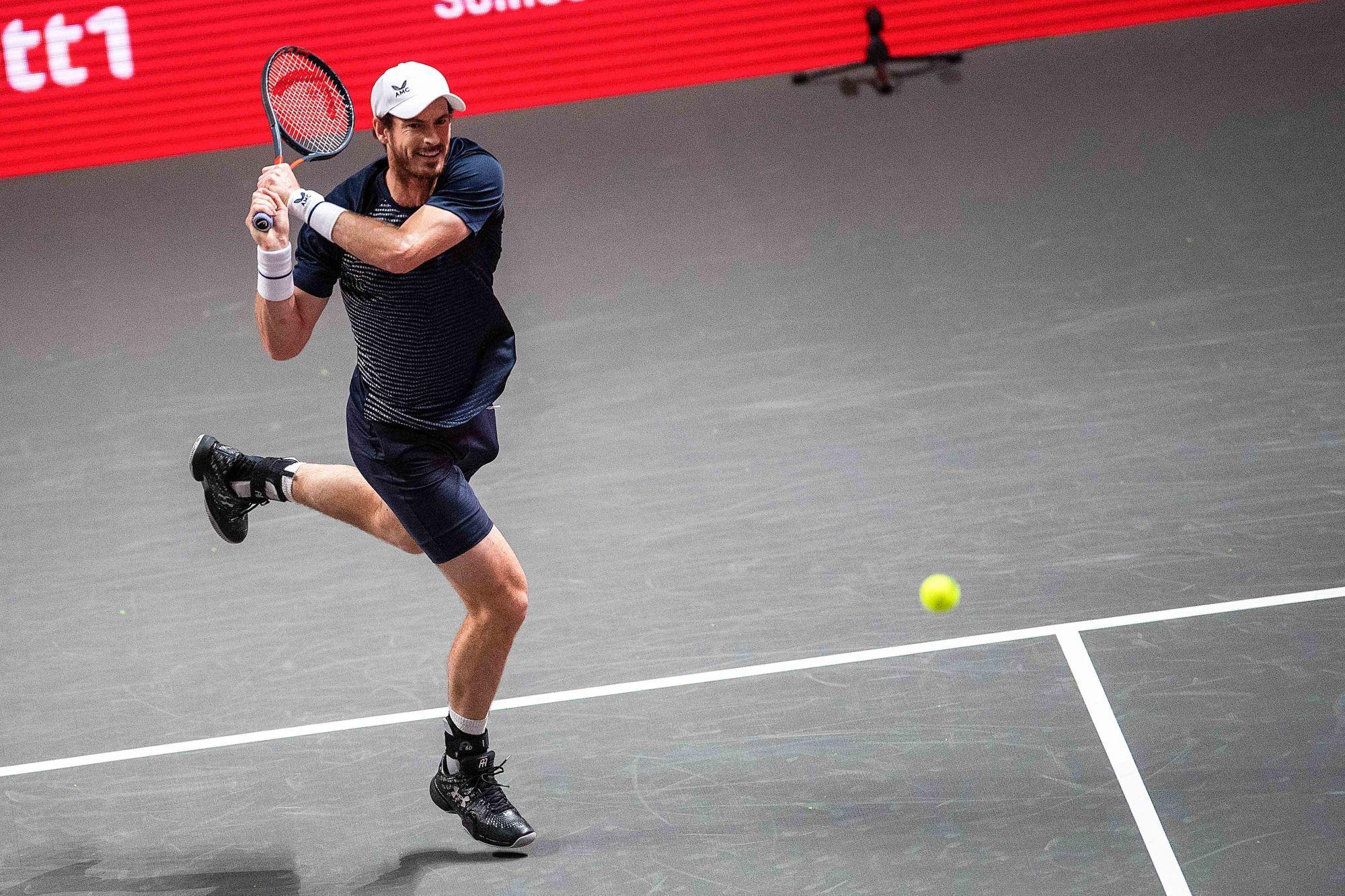 Andy Murray positif au Covid-19 et incertain pour l'Open d'Australie