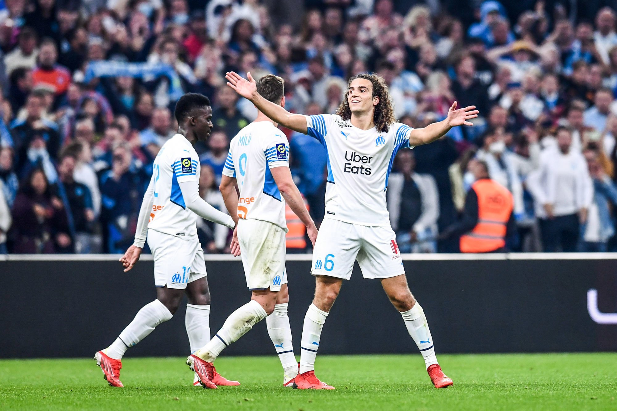 OM: Matteo Guendouzi wants to show his muscles